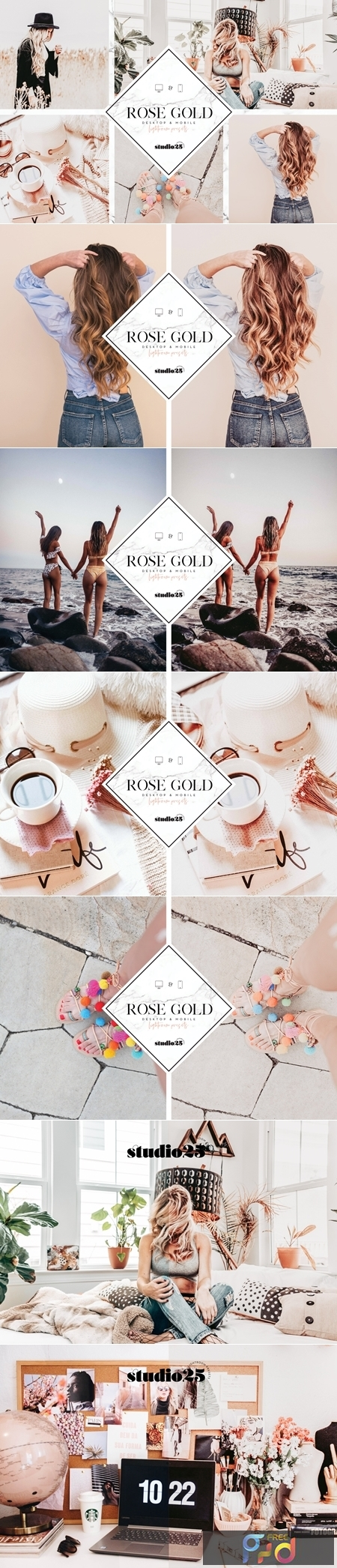 Rose gold lightroom preset 3781572 1