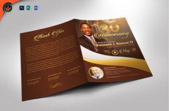 Gold Pastor's Anniversary Program 1589968 5