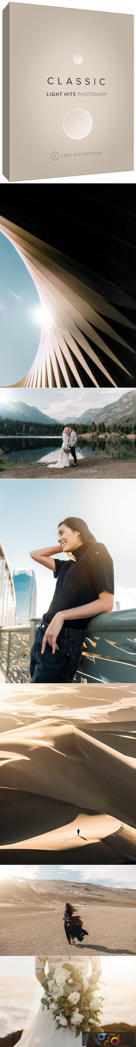 Lens Distortions - Classic Light Hits for Photoshop 1