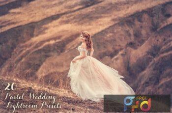 20 Pastel Wedding Lightroom Presets 4