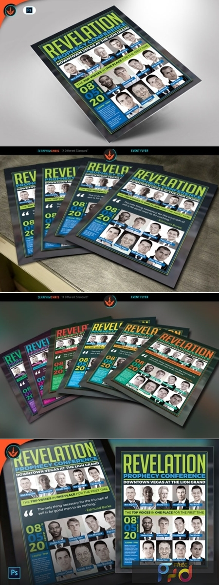 Revelation Prophecy Conference Flyer 1589937 1
