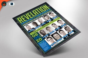 Revelation Prophecy Conference Flyer 1589937 3