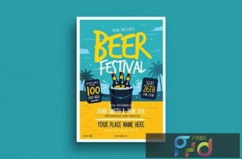 Summer Beer Festival Flyer 5