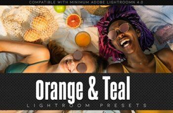 Orange & Teal Lightroom Presets 3605944 6
