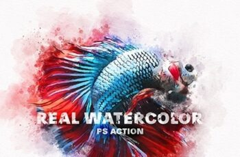 Real Watercolor Photoshop Action 24038050 4