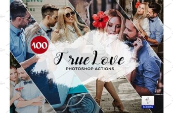 100 True Love Photoshop Actions 3934901 2
