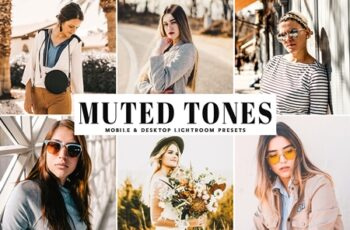 Muted Tones Mobile & Desktop Lightroom Presets 3607643 5