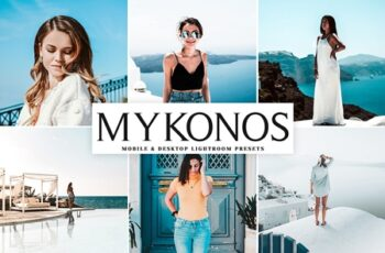 Mykonos Mobile & Desktop Lightroom Presets 3607646 3