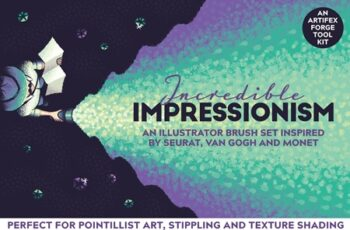 Incredible Impressionism Brushes 3756429 5