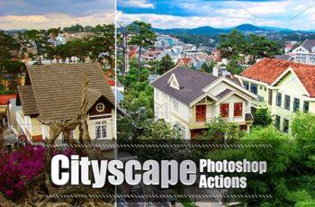 30 Cityscape Photoshop Actions 3937117 2