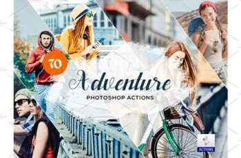 70 Adventure Photoshop Actions 3934254 13