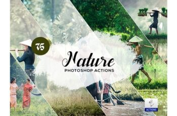 75 Nature Photoshop Actions 3934849