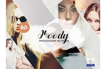 80 Moody Photoshop Actions 3934824 4