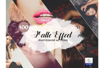 100 Matte Effect Photoshop Actions 3934740 4