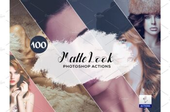 100 Matte Look Photoshop Actions 3934743 4