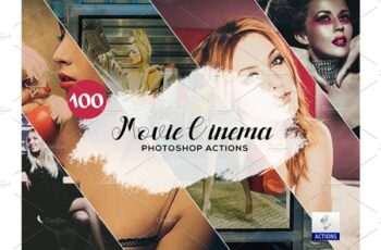 100 Movie Cinema Photoshop Actions 3934836 5