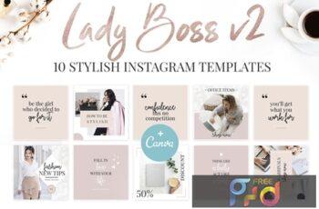 Canva Lady Boss Instagram Templates-2 ZFKWMYQ 6