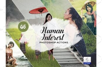 65 Human Interest Photoshop Actions 3934709 2