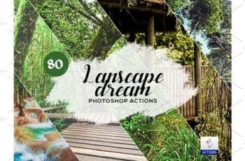 80 Landscape Dream Photoshop Actions 3934729 4