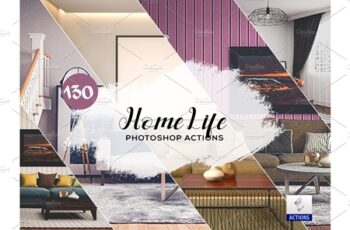 90 Home Life Photoshop Actions 3934708 5