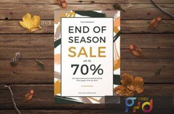 End of Season Sale Flyer 8LBH5NJ