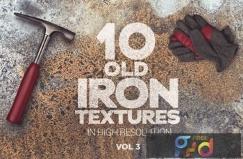 Old Iron Textures x10 vol3 NDATELB 7