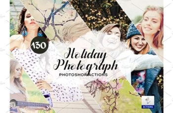 130 Holiday Photograph Photoshop Actions 3934707 5