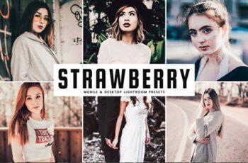 Strawberry Lightroom Presets Pack 3960779 6