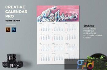 Creative Calendar Pro 2020 M8B3DCT 6