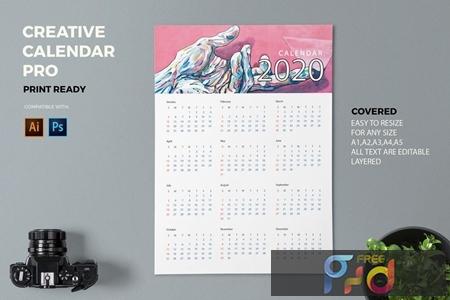 Creative Calendar Pro 2020 M8B3DCT 1