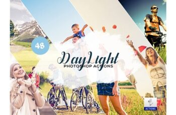 48 DayLight Photoshop Actions 3934331 7