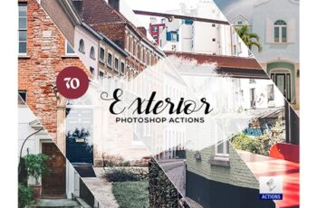 70 Exterior Photoshop Actions 3934451 2