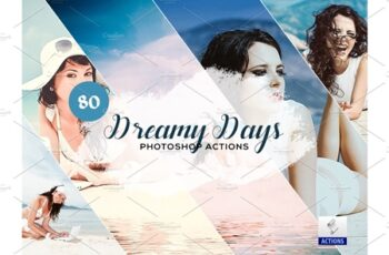 80 Dreamy Days Photoshop Action 3934403 6