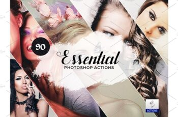 90 Essential Photoshop Actions 3934449 3