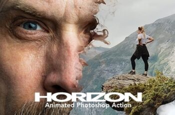 Gif Animated Horizon Photoshop Action 24080344 5