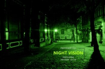 Night Vision Photoshop Action 3740036 2