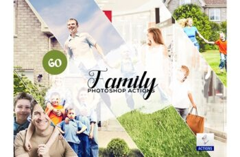 60 Family Photoshop Actions 3605984 5