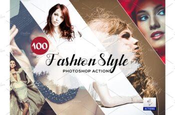 100 Fashion Style Photoshop Actions 3934615 6