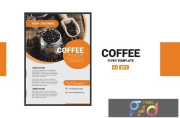 Coffee Flyer J3UWKA6 5