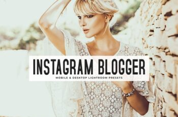 Instagram Blogger Mobile & Desktop Lightroom Presets 3608514 5