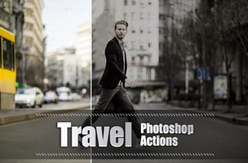 20 Travel Photoshop Actions 3937980
