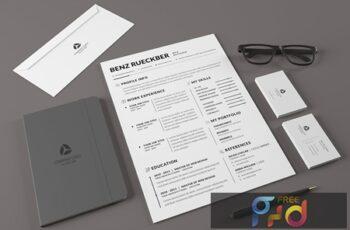 Minimal Resume Template v.4 NFA5WMP 2