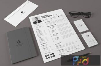 Minimal Resume Template v.4 MZCXWSK 6