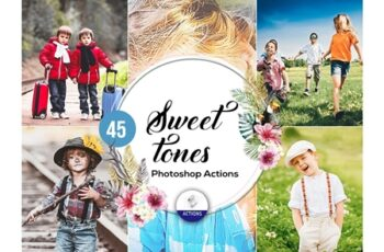 45 Sweet Tones Photoshop Actions 3937979 3