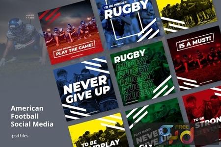 Social Media Kit American Football DUETKQ2 1