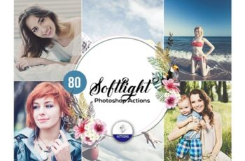 80 SoftLight Photoshop Actions 3937971 3
