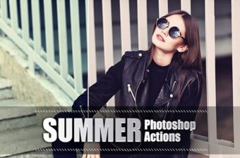 170 Summer Photoshop Actions 3937974 3
