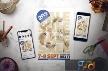 Sale Flyer Set HDXYQWB 3