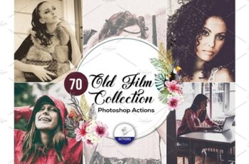 70 Old Film Photoshop Actions Vol2 3937930 4