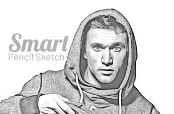 Smart Pencil Sketch 24080477 5
